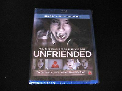 Unfriended Blu-ray 2014 *no DVD* Levan Gabriadze Nelson Greaves Heather Sossaman