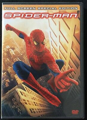Spider-Man 2~Full Screen Special Edition Toby Maguire Kirsten Dunst 2 DVD set LM