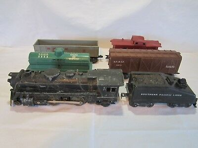 VINTAGE MARX 666 Train Engine Steam Locomotive - $49 95