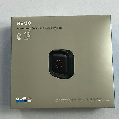 PLEASE READ GoPro REMO Waterproof Voice Activated Remote Accessory PARTS ONLY BJ