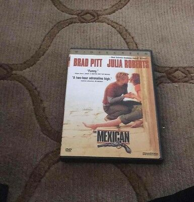 The Mexican (DVD, 2001, Widescreen) Brad Pitt Julia Roberts Comedy