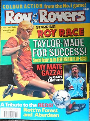 Roy Of The Rovers Comic 4th August 1990