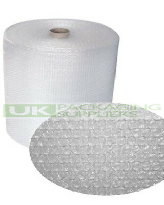 1 SMALL BUBBLE WRAP ROLL 500mm WIDE x 100 METRES LONG PACKAGING CUSHIONING - NEW