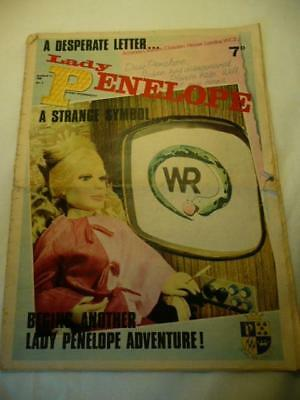 LADY PENELOPE No 8 12/03/66 COMIC  GERRY ANDERSON THUNDERBIRDS  MAN FROM UNCLE