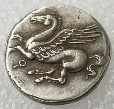 Rare Ancient Greek Collectible Coins -415 BC Antique Metal Covered Tetradrachm
