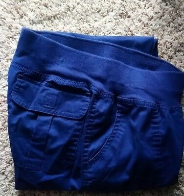e7e2fc7b578 WOMENS BUTTER SOFT Stretch Scrub Pants size Small in the color Navy ...