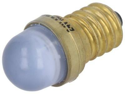 LB-E14-24AC/DC LED lamp blue E14 24VDC 24VAC POLAM-ELTA