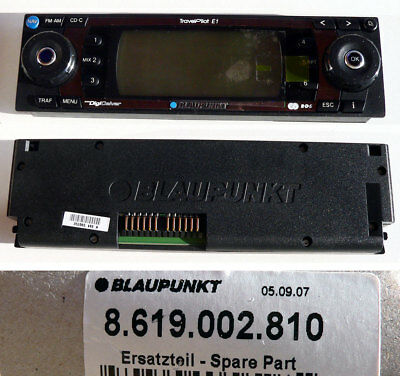BLAUPUNKT Car Radio TravelPilot E1 Bedienteil 8619002810 - NEU