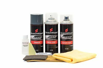 Scratchwizard Touchup Paint for Ford EM/M6153 (Medium Red)