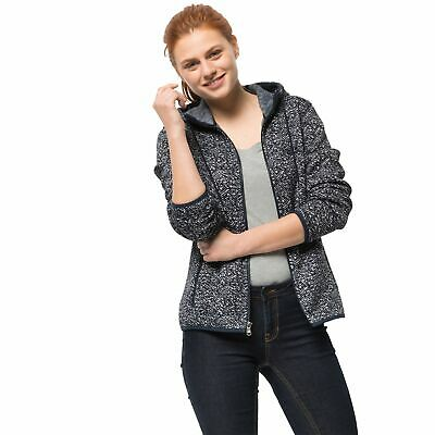 Jack Wolfskin Belleville Jacket Donna Everyday Esterno Top Giacca Giacca di Pile