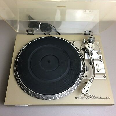 Pioneer PL-518 direct drive turntable - New feet & new stylus