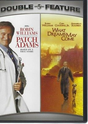 DVD Double Feature Patch Adams What Dreams May Come Robin Williams PG-13
