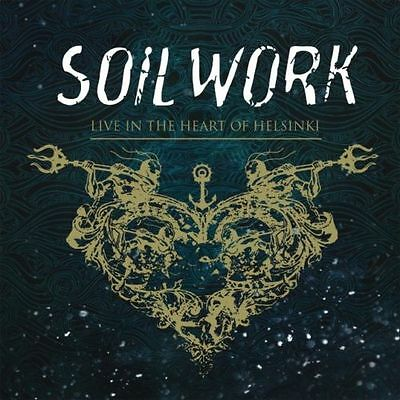 Live in the Heart of Helsinki SOILWORK  2 CD + DVD ( FREE SHIPPING)