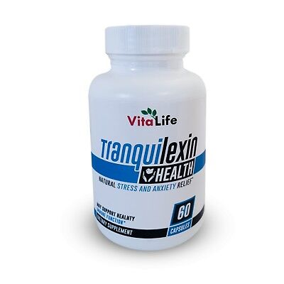 TRANQUILEXIN - 100% Natural - Stress & Anxiety Relief *****Tranquilene Formula!