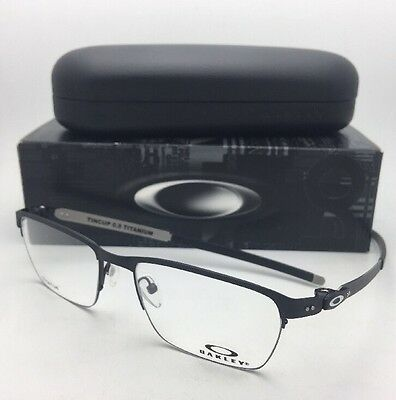fcf74cd7d1 New OAKLEY Eyeglasses TINCUP 0.5 TITANIUM OX5099-0153 53-18 Powder Coal  Frames