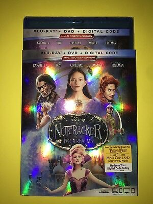 DISNEY THE NUTCRACKER AND THE FOUR REALMS BLU RAY/ Digital Combo