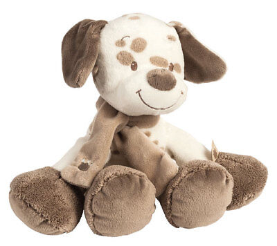 Plush Soft Baby Toy Nattou Toys Cuddly Max the Dog Stuffed New 30 cm