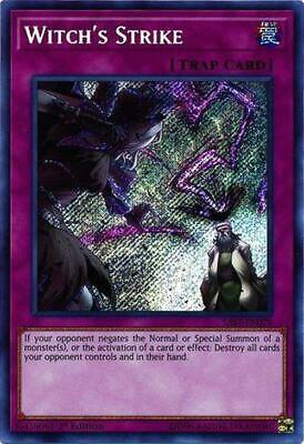 Witch's Strike - SAST-EN079 - Secret Rare 1st Edition