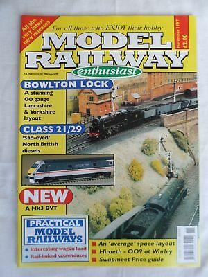 Model Railway enthusiast - November 1997 - Class 21/29