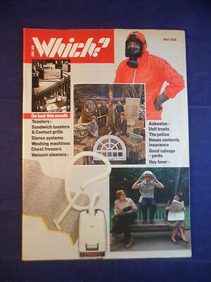 Vintage - Which? magazine - May 1985