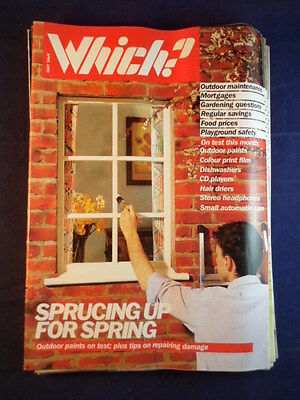 Vintage - Which? magazine - April 1988