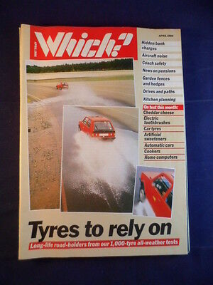 Vintage - Which? magazine - April 1986