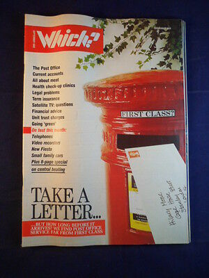 Vintage - Which? magazine - September 1989