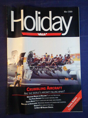 Vintage - Which? Holiday magazine - May 1989