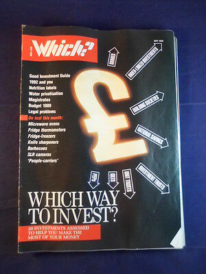 Vintage - Which? magazine - May 1989