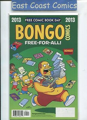 Bongo Comics Free-For-All Free Comic Book Day 2013