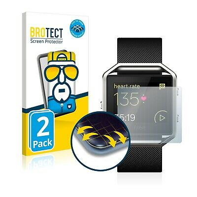 2x Full Cover Screen Protector Fitbit Blaze 3D Curved Protection Film