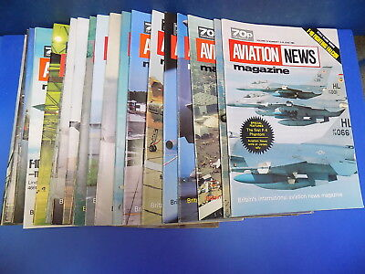 Aviation News Magazine 1983 - 1985 Back Issues