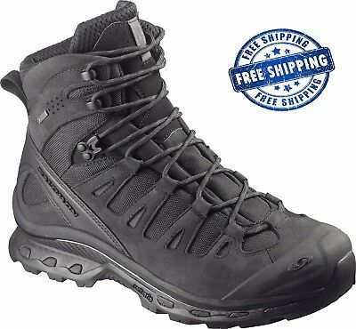 Salomon Quest 4D GTX Forces Black GORE-TEX Military Boots Polizei Schuhe