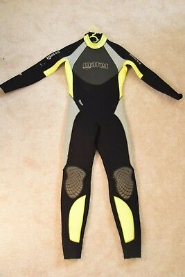 4796e1c5ca Mares Thermic Evolution ladies full length 5mm wetsuit Size 2 GOOD CONDITION