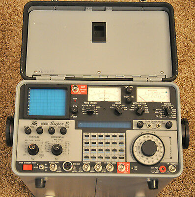 IFR FM/AM 1200 Super S Communication Service Monitor 1200SS Tracking Generator