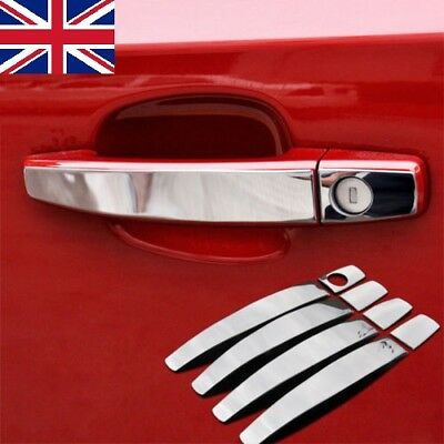 Fit For Vauxhall Opel Astra Mokka Zafira Insignia Chrome Door Handle Cover Trim