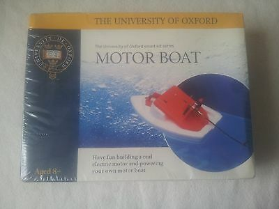 University Of Oxford Smart Kit Motor Boat.brand New/sealed Free Signed Delivery