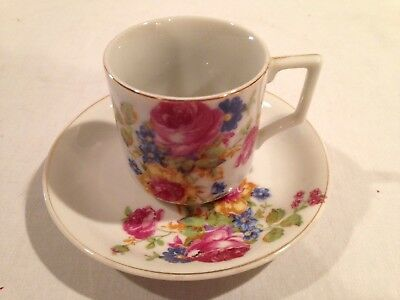 Demitasse Cup & Saucer Made In Occupied Japan