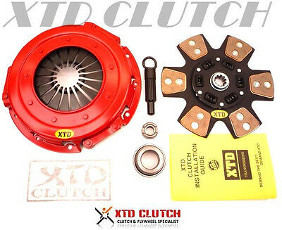 Amc Stage 3 Ceramic  Racing Clutch Kit- 86-01 Mustang Gt Lx V8