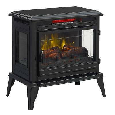 Mr. Heater 25-in 5100-BTU Black Metal Flat Wall Infrared Electric Stove