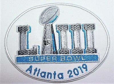NFL Super Bowl LIII - 53 Atlanta 2019 Embroidered Iron-on Patch