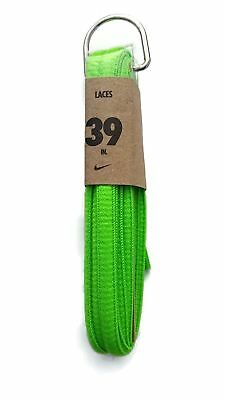 8f23ab4df NIKE UNISEX REPLACEMENT Shoelaces Oval Cords Laces 39 Flour Green ...