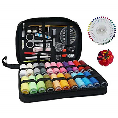 Sewing Kit 126 Pcs, Portable Professional Travel Set for Adult, Accessories...
