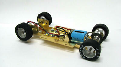 H&R Racing HRCH09 Adjustable Chassis w/ 26,000 RPM Motor 1:24 Slot Car
