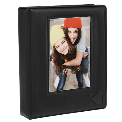 Kodak 64-Pocket Sleek Photo Album w/Photo Window Cover For 2x3 Paper...