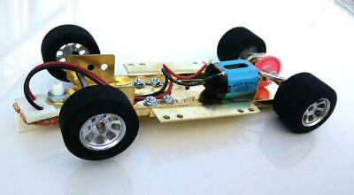H&R Racing HRCH07 Adjustable Chassis w/ 26,000 RMP Motor 1:24 Slot Car