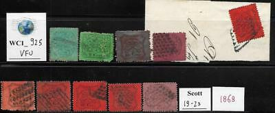 WC1_925 ITALY. STATES: STATO PONTIFICIO. Valuable study lot of 1868 stamps. Used