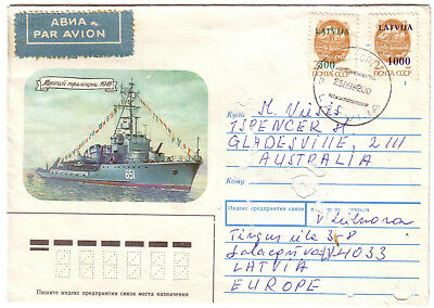 Latvia - 4 covers (see scans) (Mixed condition)