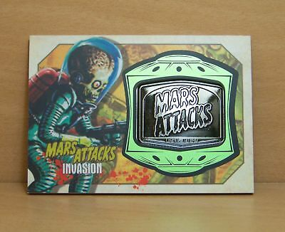 2013 Topps Mars Attacks Invasion MM-8 Medallion card Burning Flesh