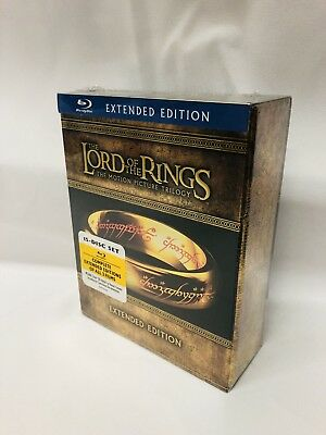 The Lord of the Rings Trilogy Extended Edition 15 disc set sealed  Blu-Ray